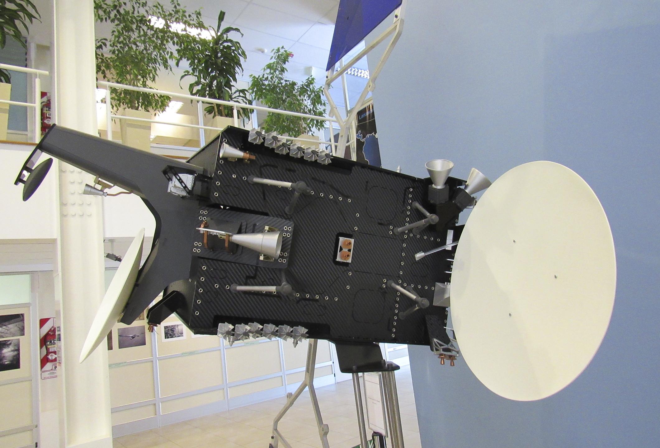Modelo Satelital AR-SAT 2