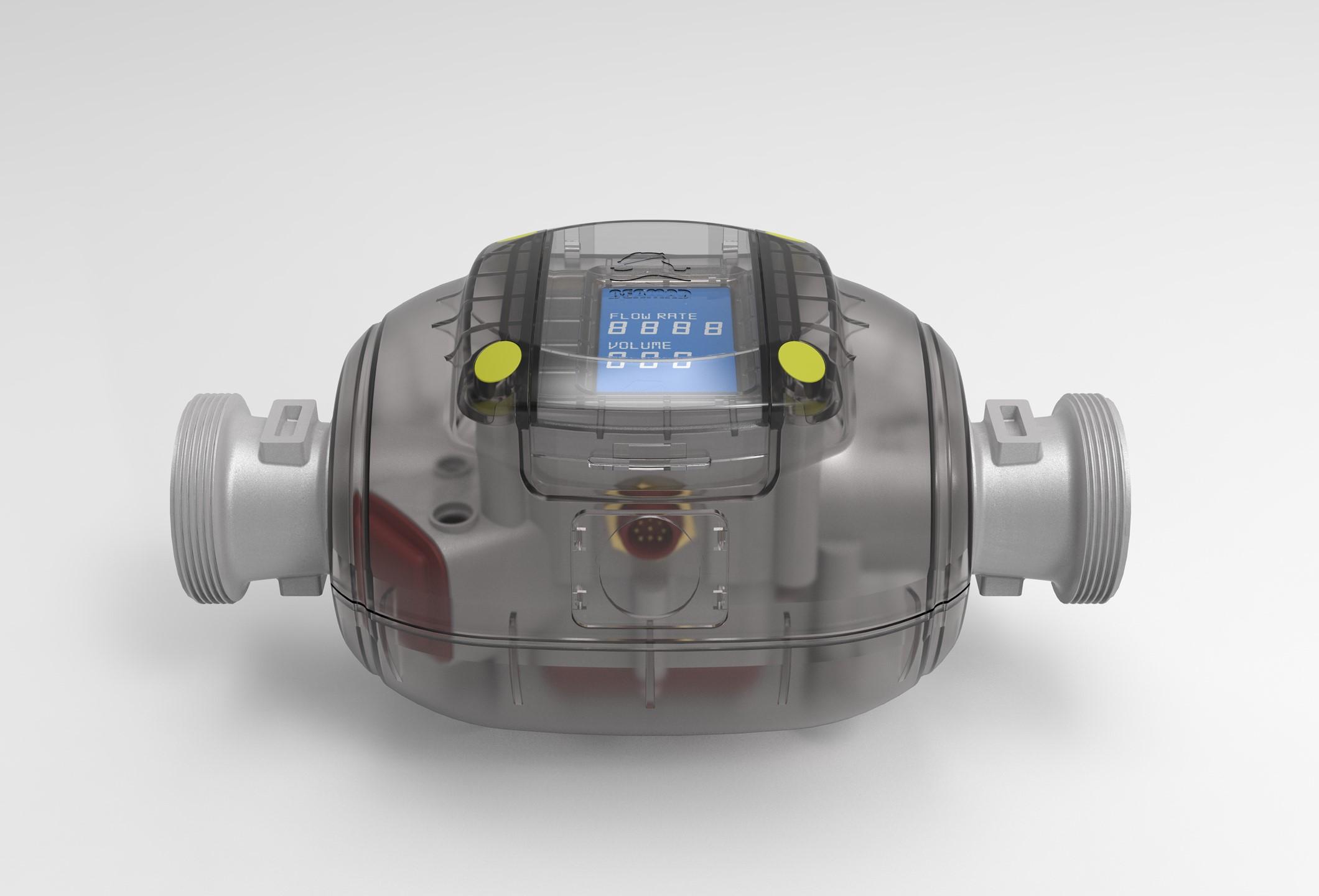 Bermad. Medidor de Agua DN50